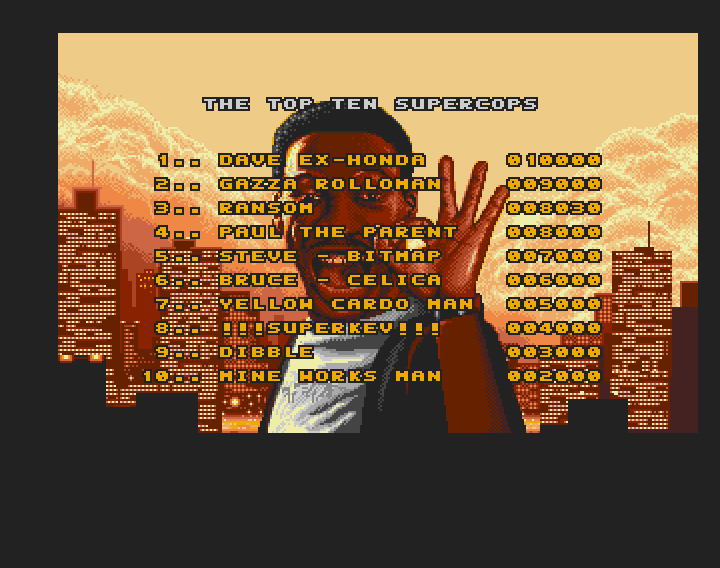 Beverly Hills Cop [Difficulty Level 1] 8,030 points