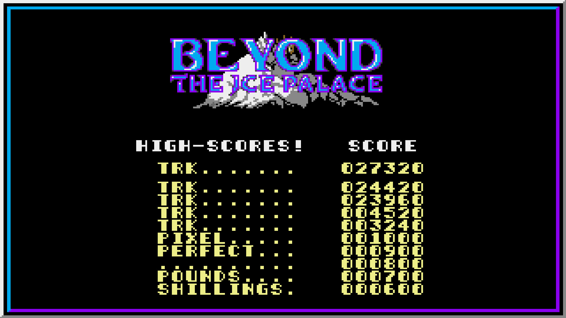 TheTrickster: Beyond the Ice Palace (Amiga Emulated) 27,320 points on 2015-07-26 07:52:29