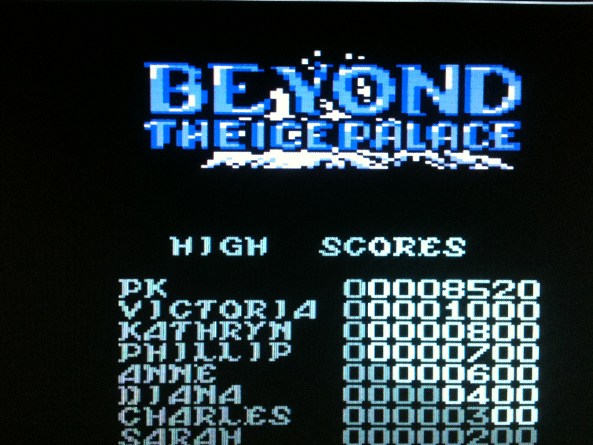 kernzy: Beyond the Ice Palace (Commodore 64 Emulated) 8,520 points on 2015-09-06 19:46:38