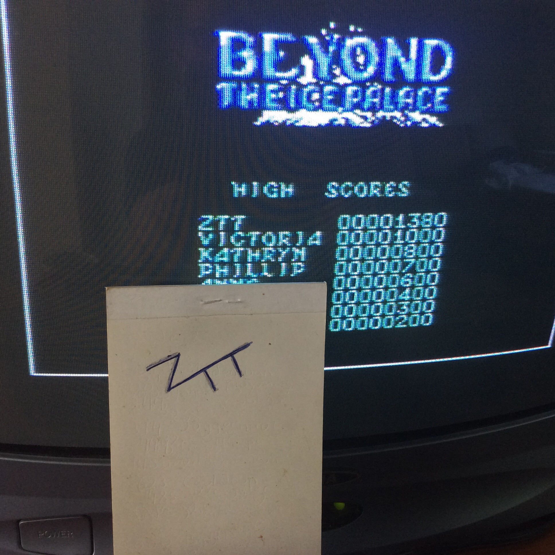 Frankie: Beyond the Ice Palace (Commodore 64) 1,380 points on 2016-06-07 11:56:03