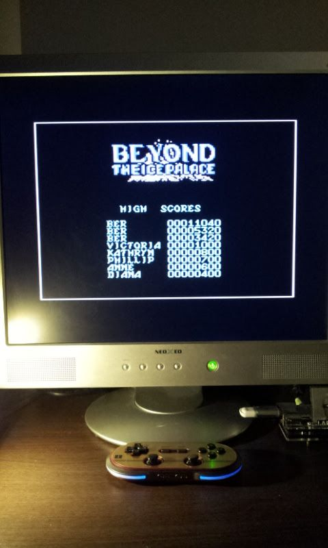 Larquey: Beyond the Ice Palace (Commodore 64 Emulated) 11,040 points on 2017-03-21 14:01:59