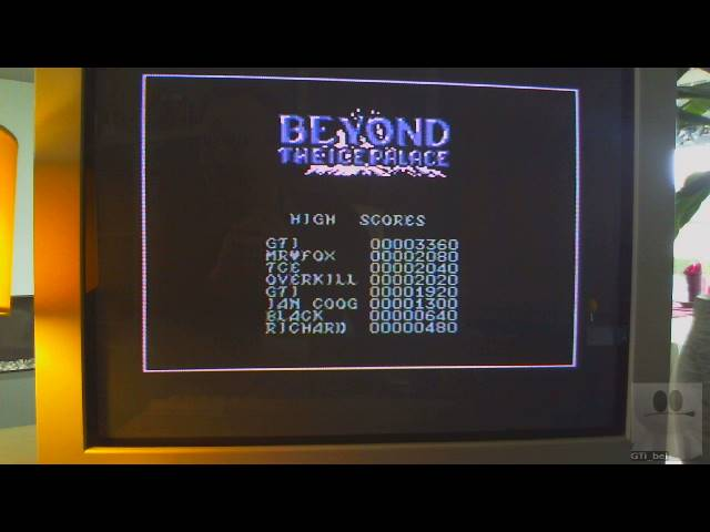 GTibel: Beyond the Ice Palace (Commodore 64) 3,360 points on 2019-04-04 06:54:42