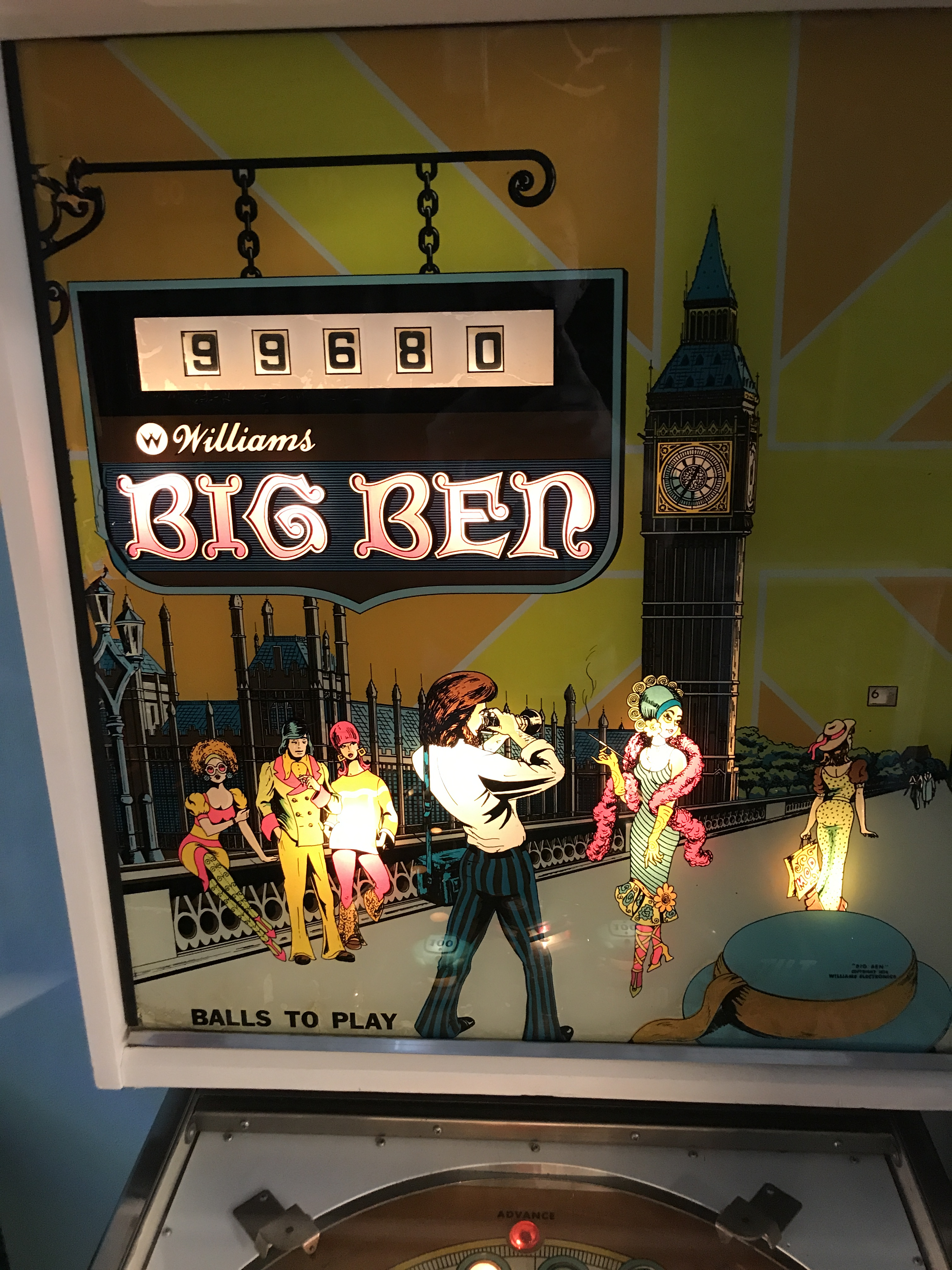 RaymanC: Big Ben (Pinball: 5 Balls) 99,680 points on 2017-04-30 14:52:49