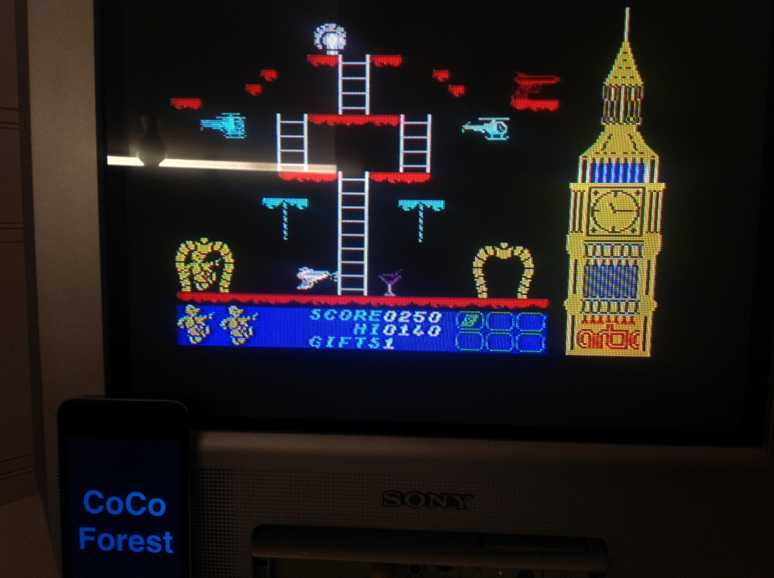 CoCoForest: Big Ben Strikes Again (ZX Spectrum) 250 points on 2016-01-20 07:51:57