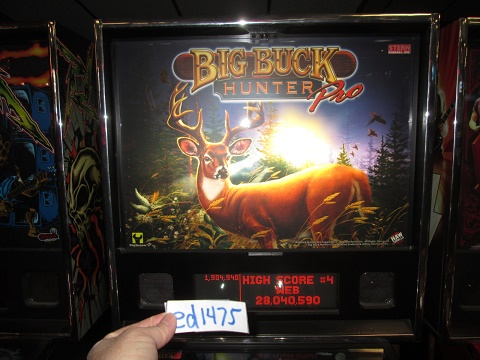 ed1475: Big Buck Hunter Pro (Pinball: 3 Balls) 1,904,940 points on 2017-02-12 15:48:45