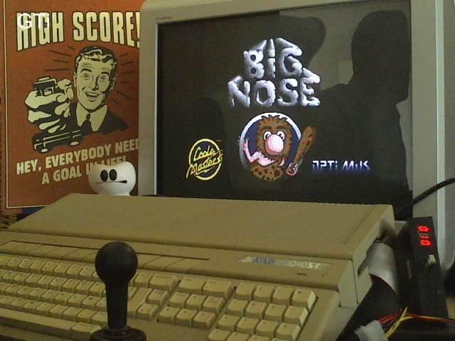 GTibel: Big Nose: The Caveman (Atari ST) 7,375 points on 2017-07-31 01:51:01