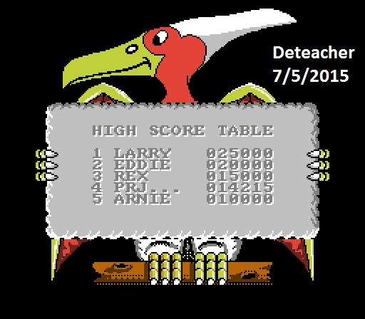 Deteacher: Big Nose: The Caveman (NES/Famicom Emulated) 14,215 points on 2015-07-05 15:07:23