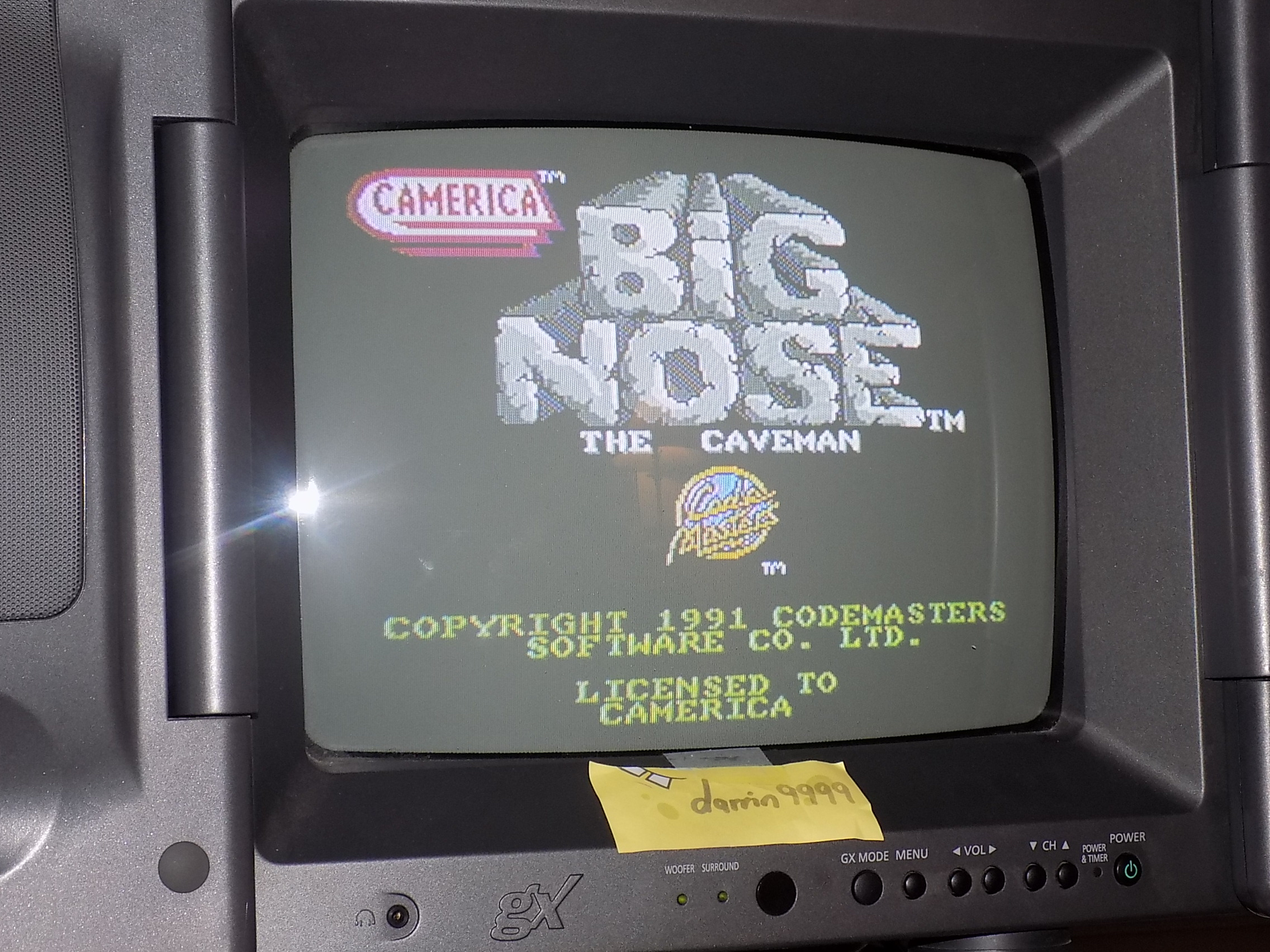 darrin9999: Big Nose: The Caveman (NES/Famicom) 5,460 points on 2018-01-24 17:03:02