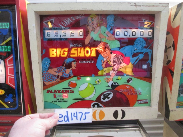 ed1475: Big Shot (Pinball: 3 Balls) 65,390 points on 2017-02-05 16:10:17