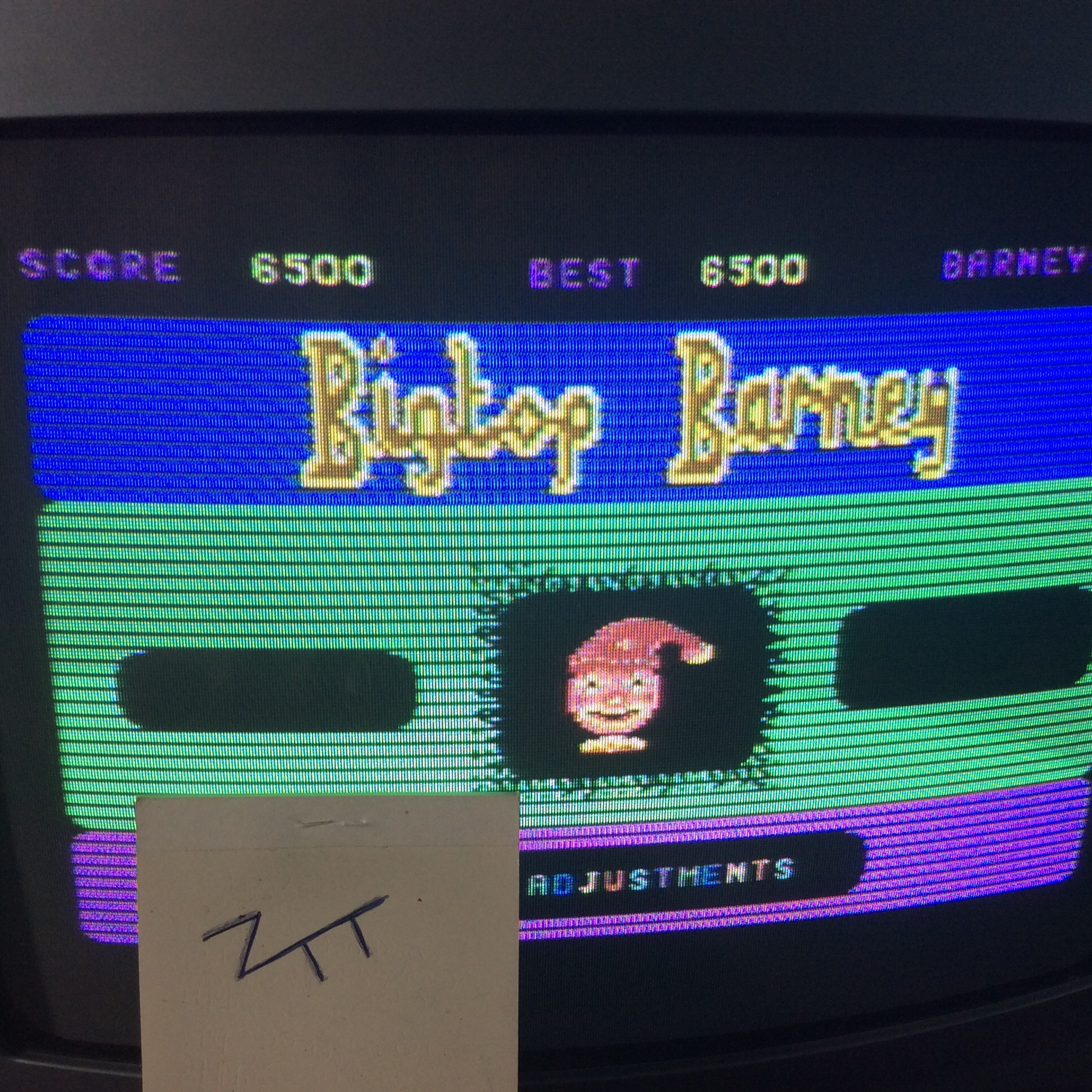Frankie: Bigtop Barney (Commodore 64) 6,500 points on 2016-06-07 12:28:55