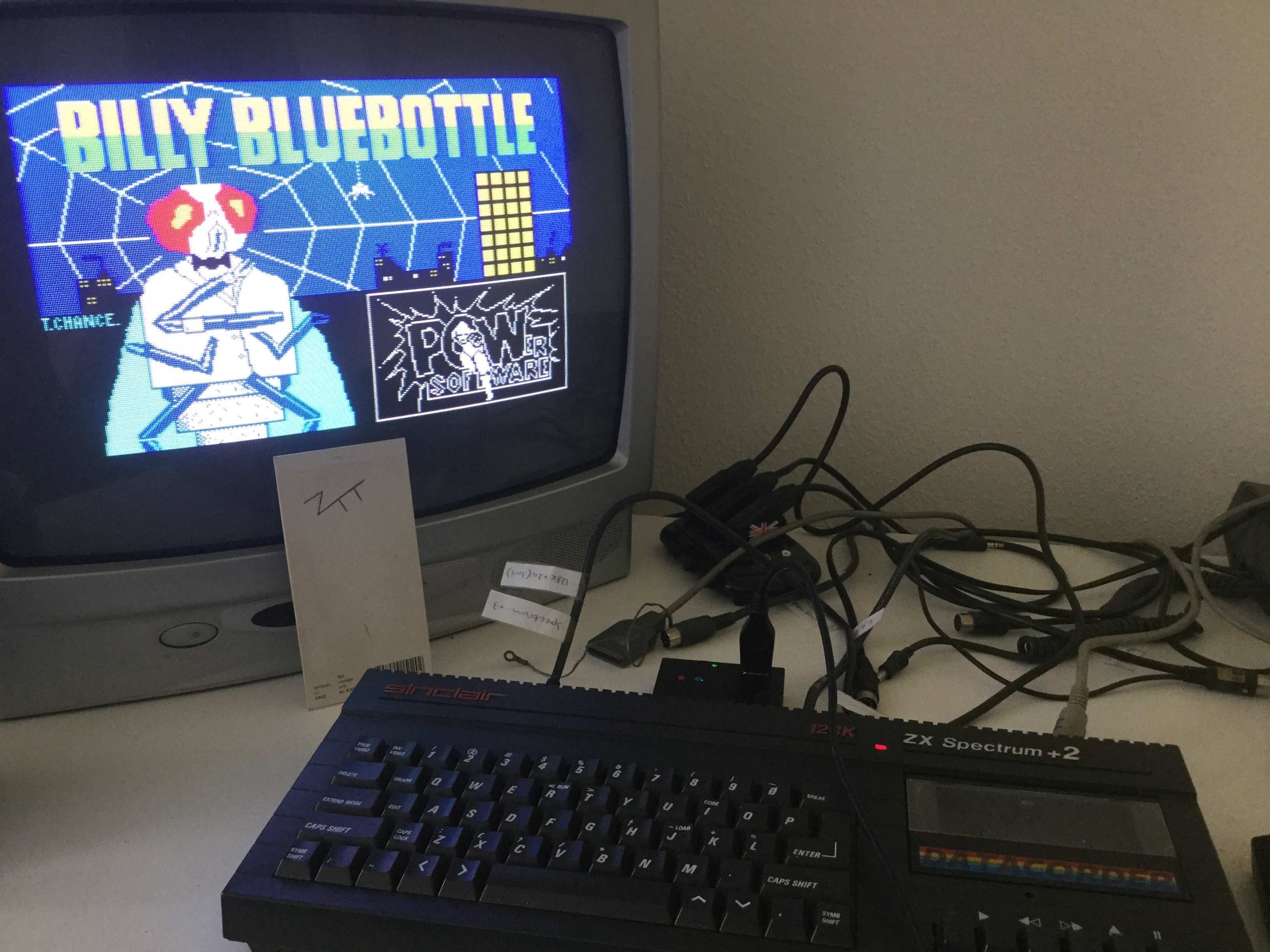 Frankie: Billy Bluebottle (ZX Spectrum) 7,750 points on 2018-05-12 06:50:54