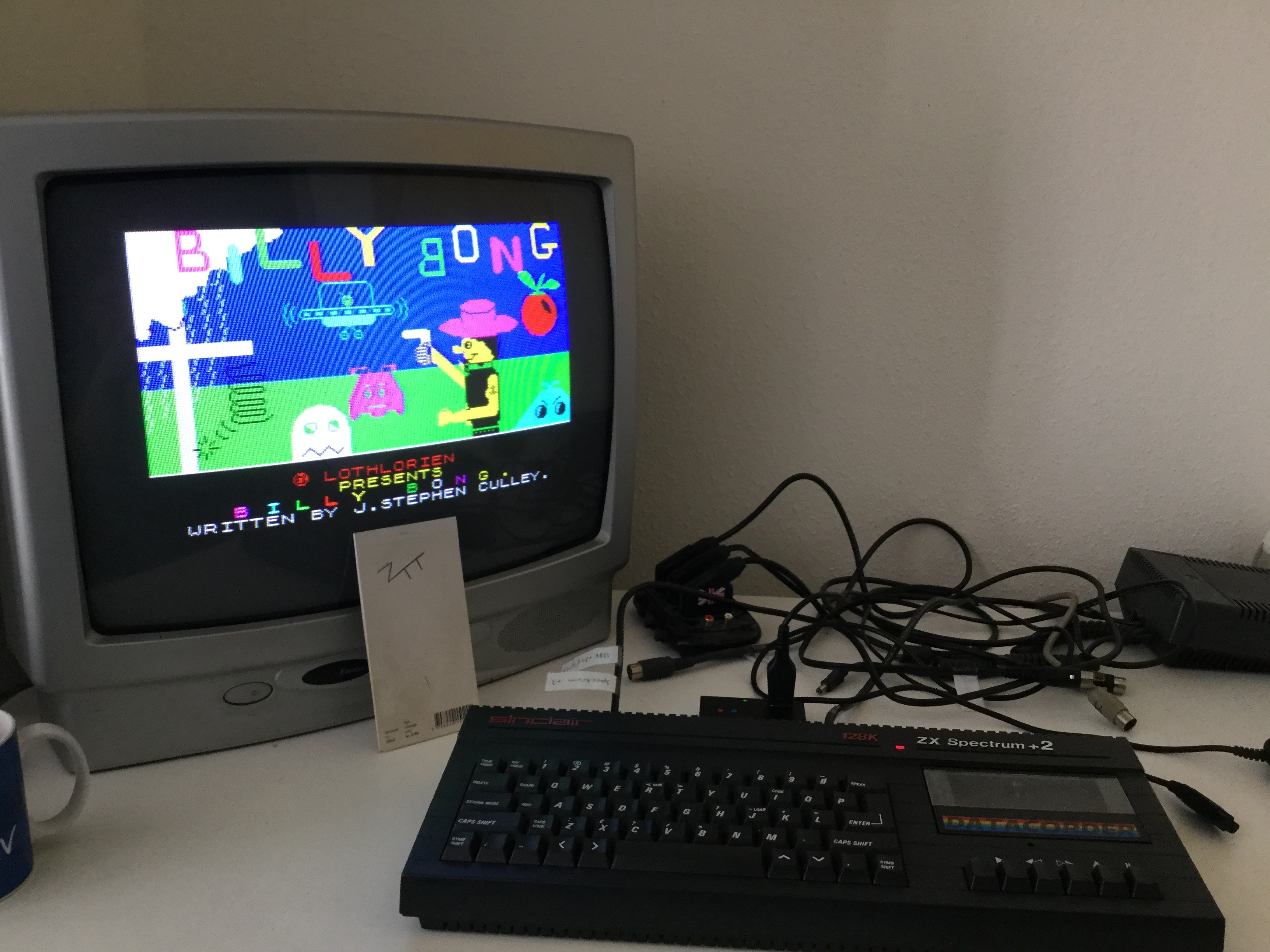 Frankie: Billy Bong (ZX Spectrum) 3,450 points on 2018-05-26 04:19:54