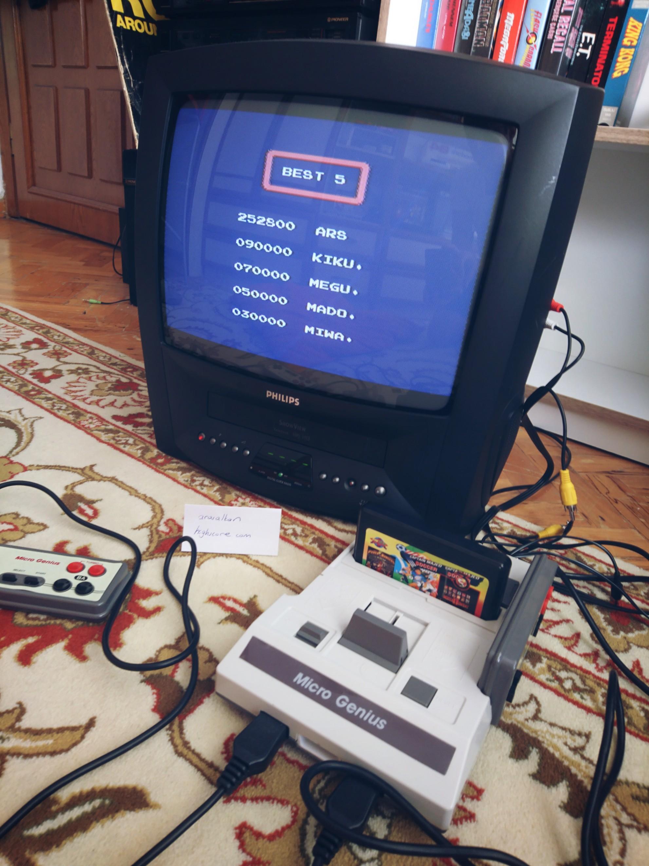 arasalkan: Binary Land (NES/Famicom) 252,800 points on 2019-08-13 03:17:42