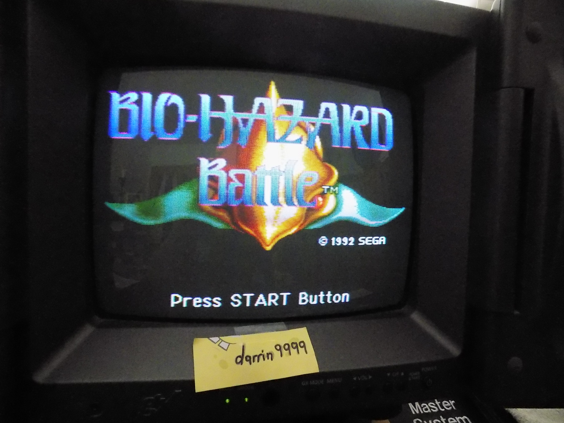 darrin9999: Bio Hazard Battle [Normal] (Sega Genesis / MegaDrive) 11,360 points on 2019-03-31 11:18:14
