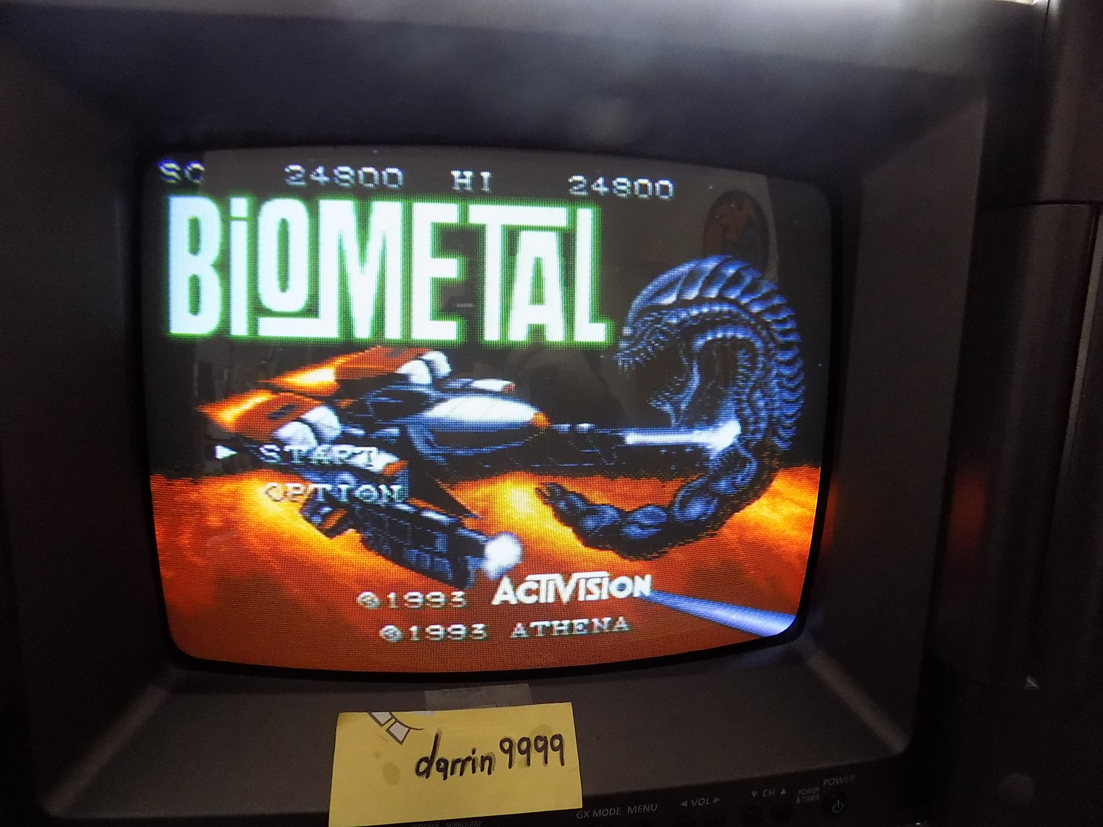 darrin9999: Bio Metal [normal] (SNES/Super Famicom) 24,800 points on 2019-04-07 11:00:33