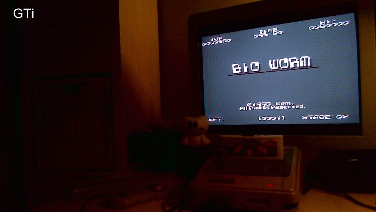 GTibel: Bio Worm [PD] (SNES/Super Famicom) 17,800 points on 2016-11-18 16:35:46