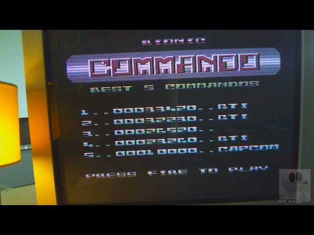 GTibel: Bionic Commando (Commodore 64) 33,420 points on 2019-04-04 06:07:18