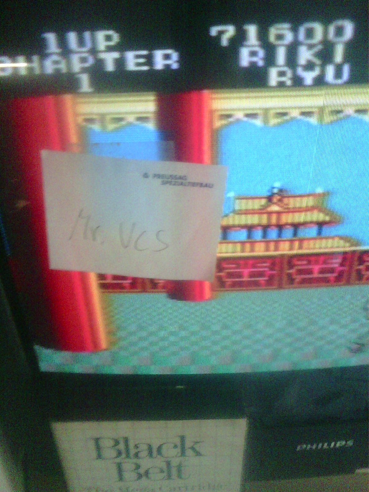MisterVCS: Black Belt (Sega Master System) 71,600 points on 2018-05-06 06:29:29