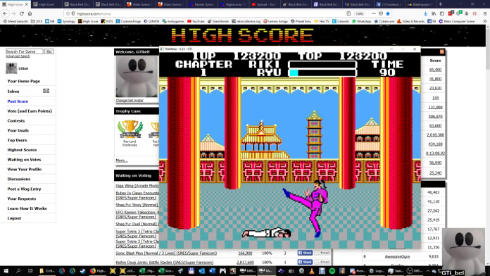 GTibel: Black Belt (Sega Master System Emulated) 123,200 points on 2019-09-16 12:41:24