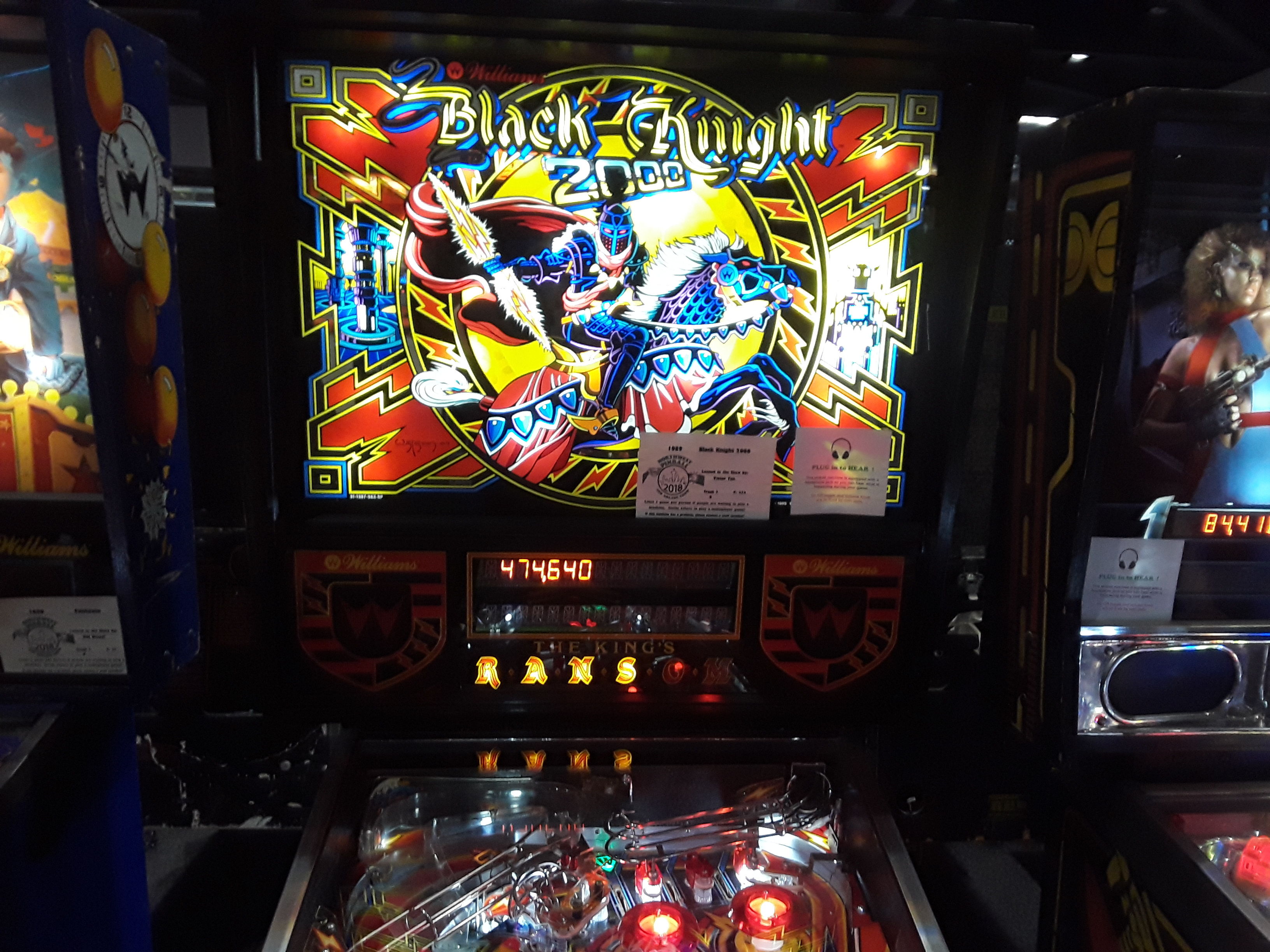 Black Knight 2000 474,640 points