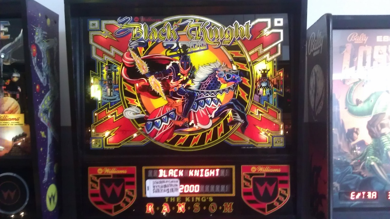 ichigokurosaki1991: Black Knight 2000 (Pinball: 5 Balls) 8,342,290 points on 2016-04-09 10:02:10