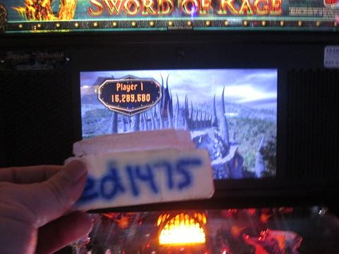 ed1475: Black Knight: Sword of Rage [Pro] (Pinball: 3 Balls) 16,289,680 points on 2019-08-23 22:37:47