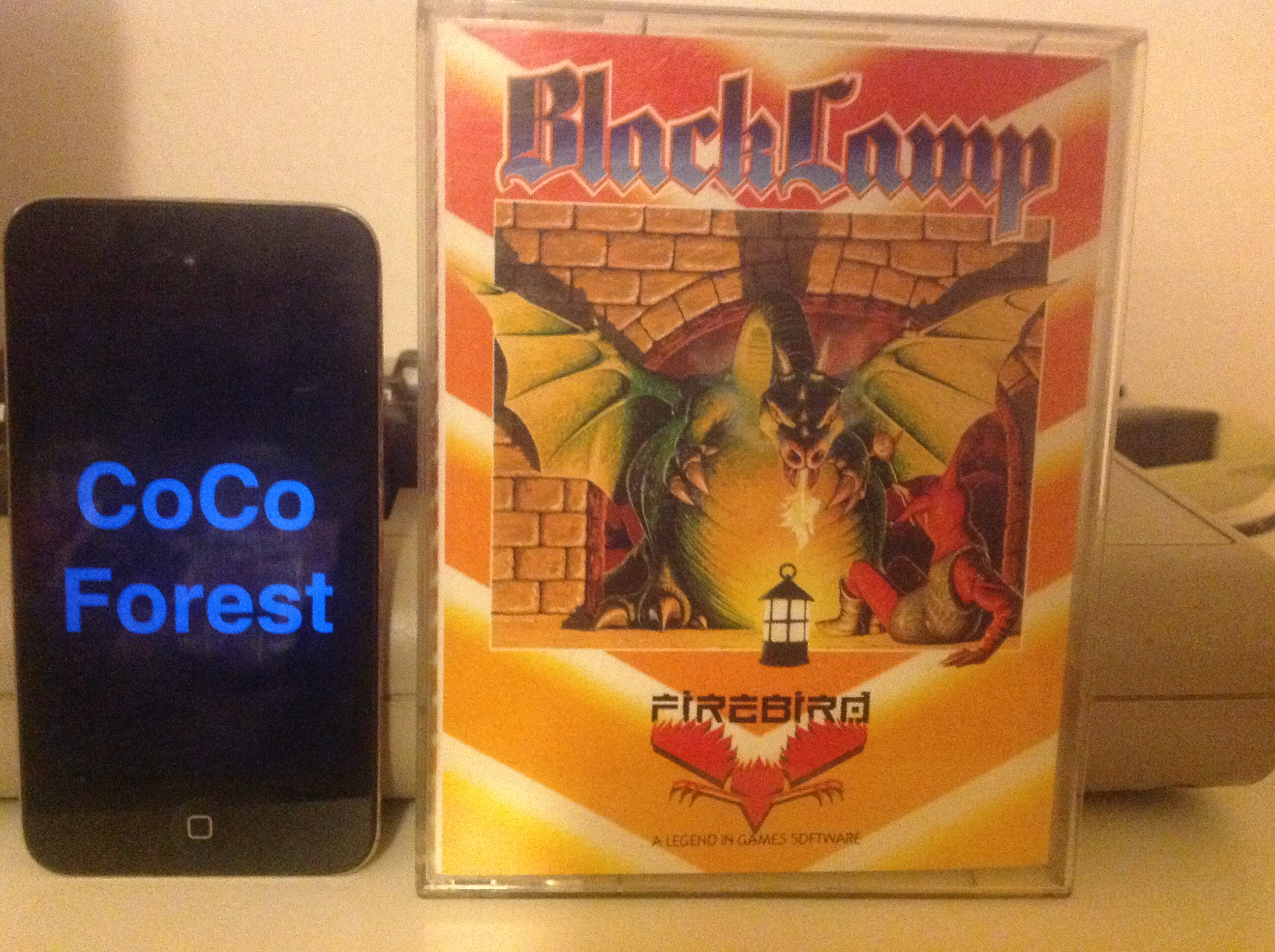 CoCoForest: Black Lamp (Commodore 64) 35,825 points on 2015-12-23 14:01:53