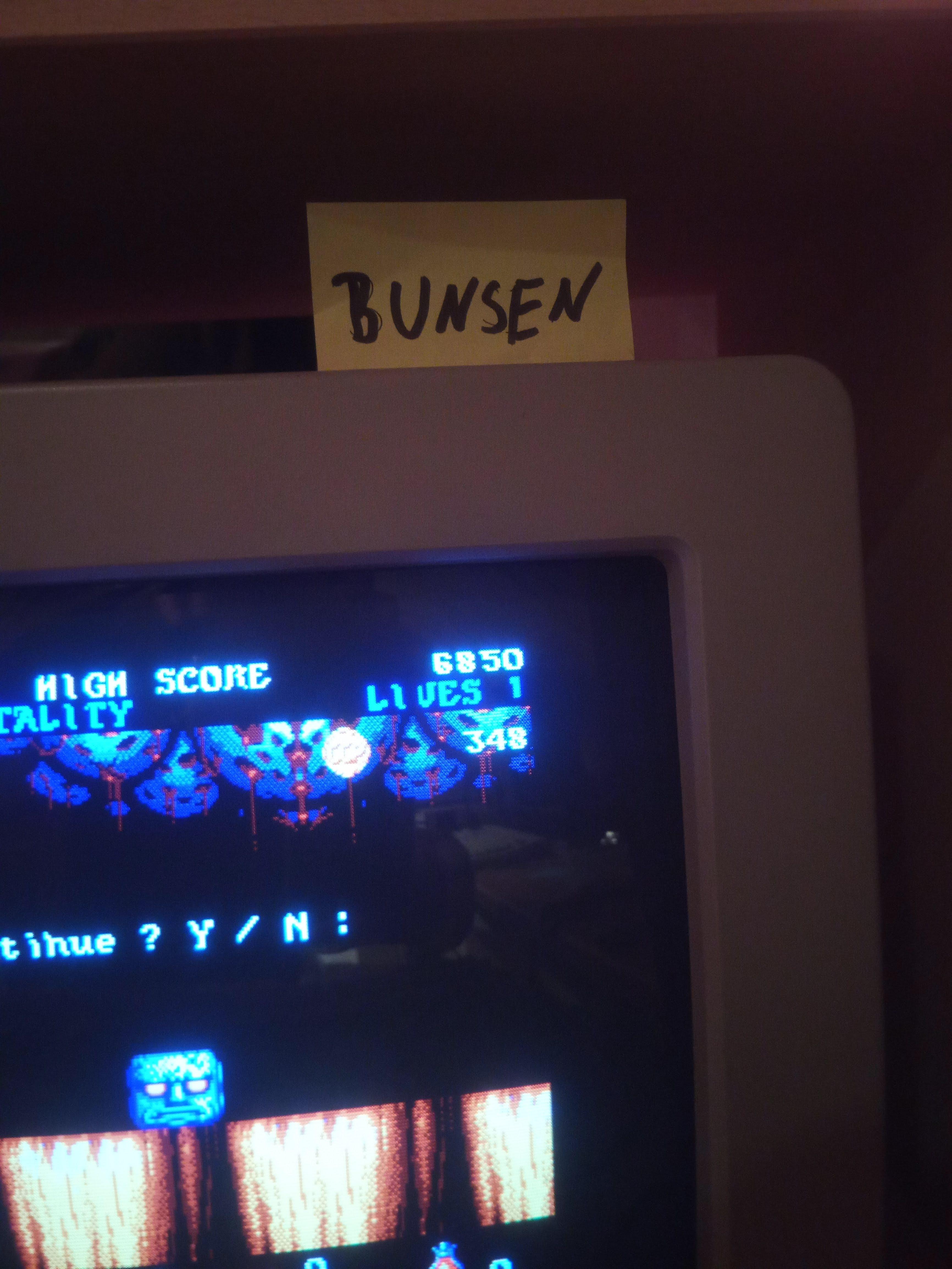 Bunsen: Black Tiger (Atari ST) 6,850 points on 2019-12-27 15:51:54