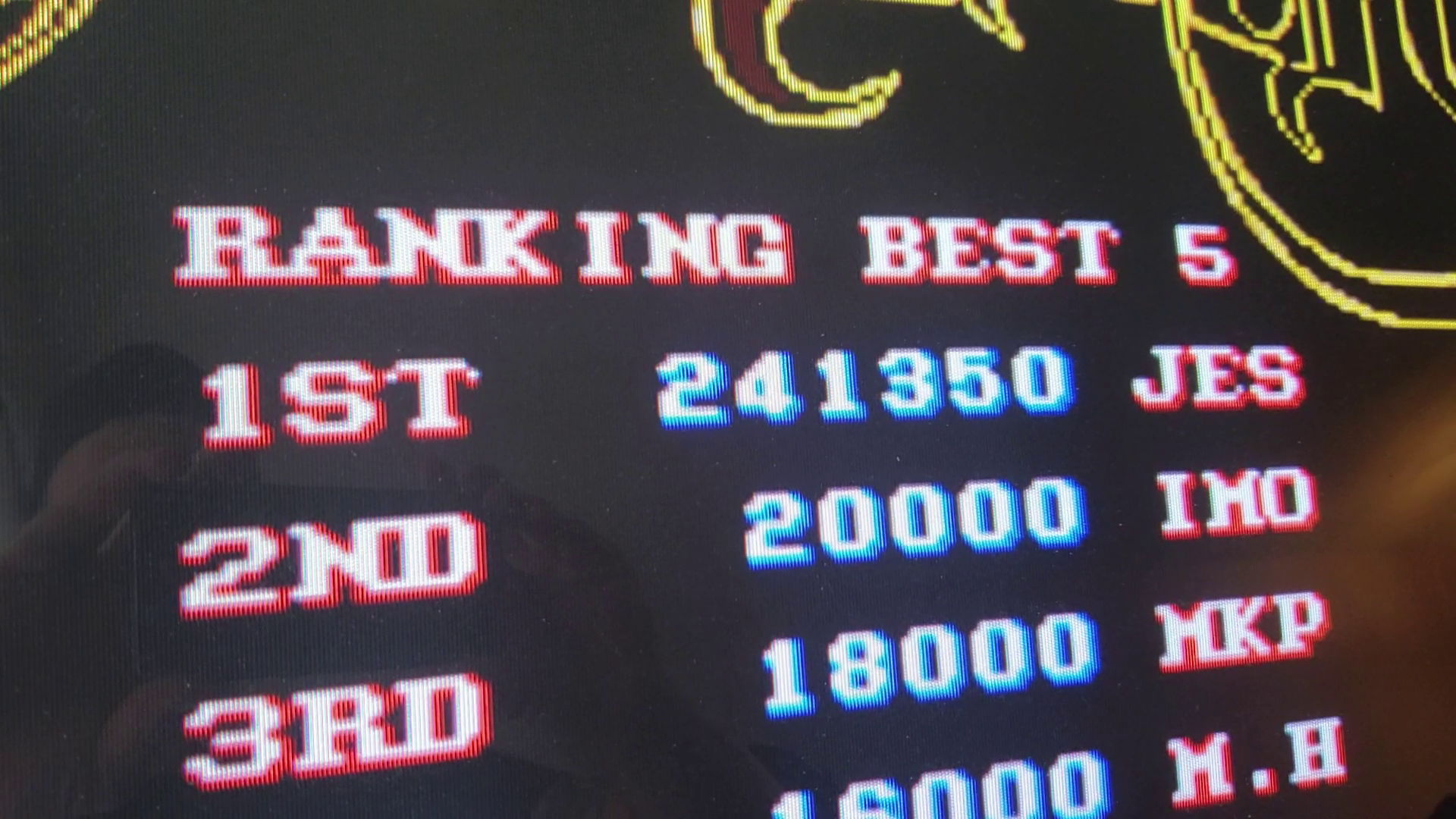 JES: Black Tiger [blktiger] (Arcade Emulated / M.A.M.E.) 241,350 points on 2020-02-02 14:06:50