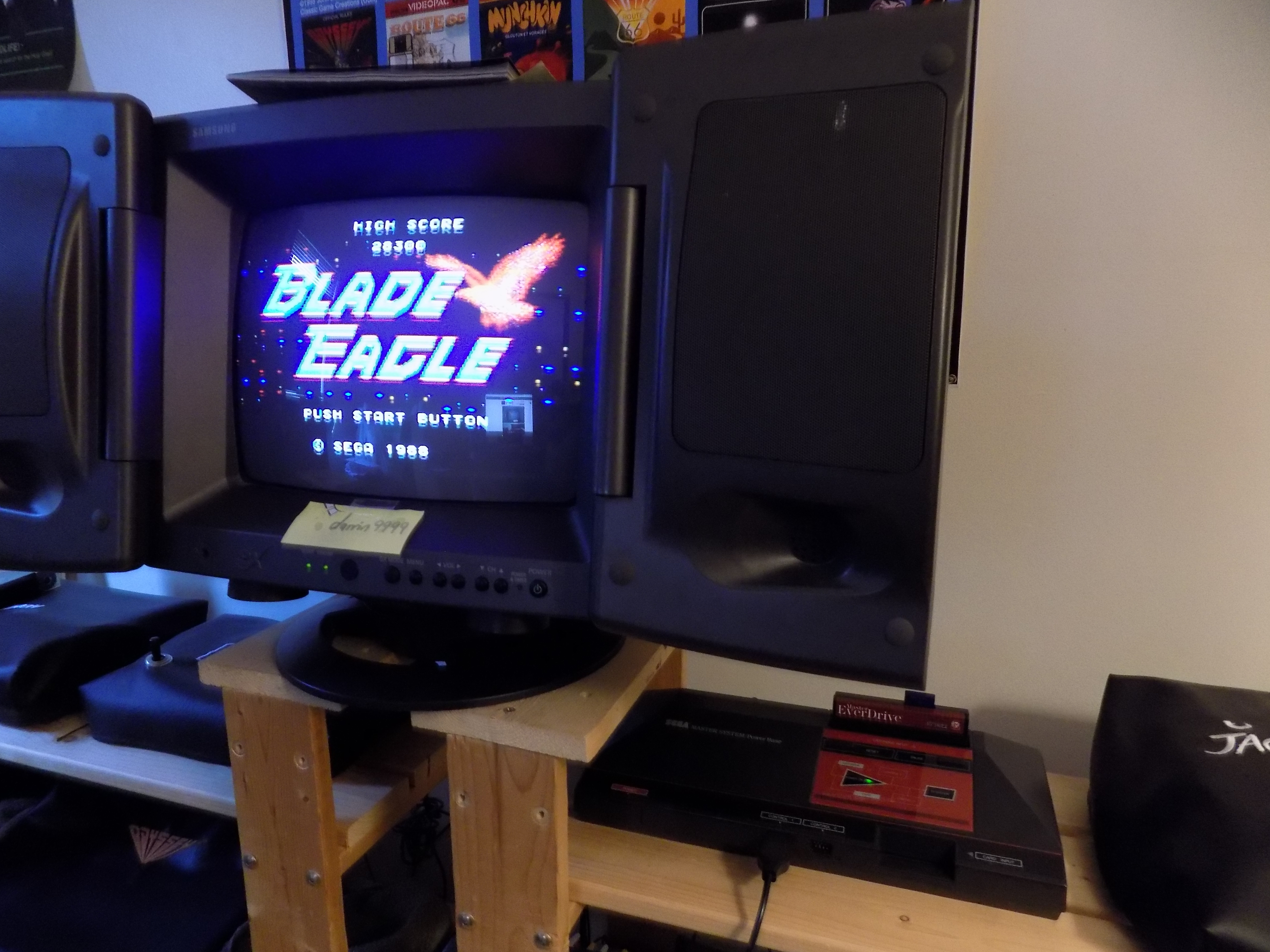 darrin9999: Blade Eagle (Sega Master System) 28,300 points on 2017-01-21 10:05:23