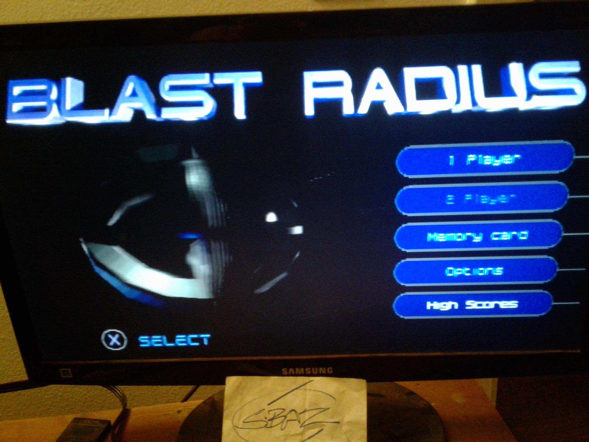 S.BAZ: Blast Radius (Playstation 1) 2,000 points on 2020-08-05 18:45:03