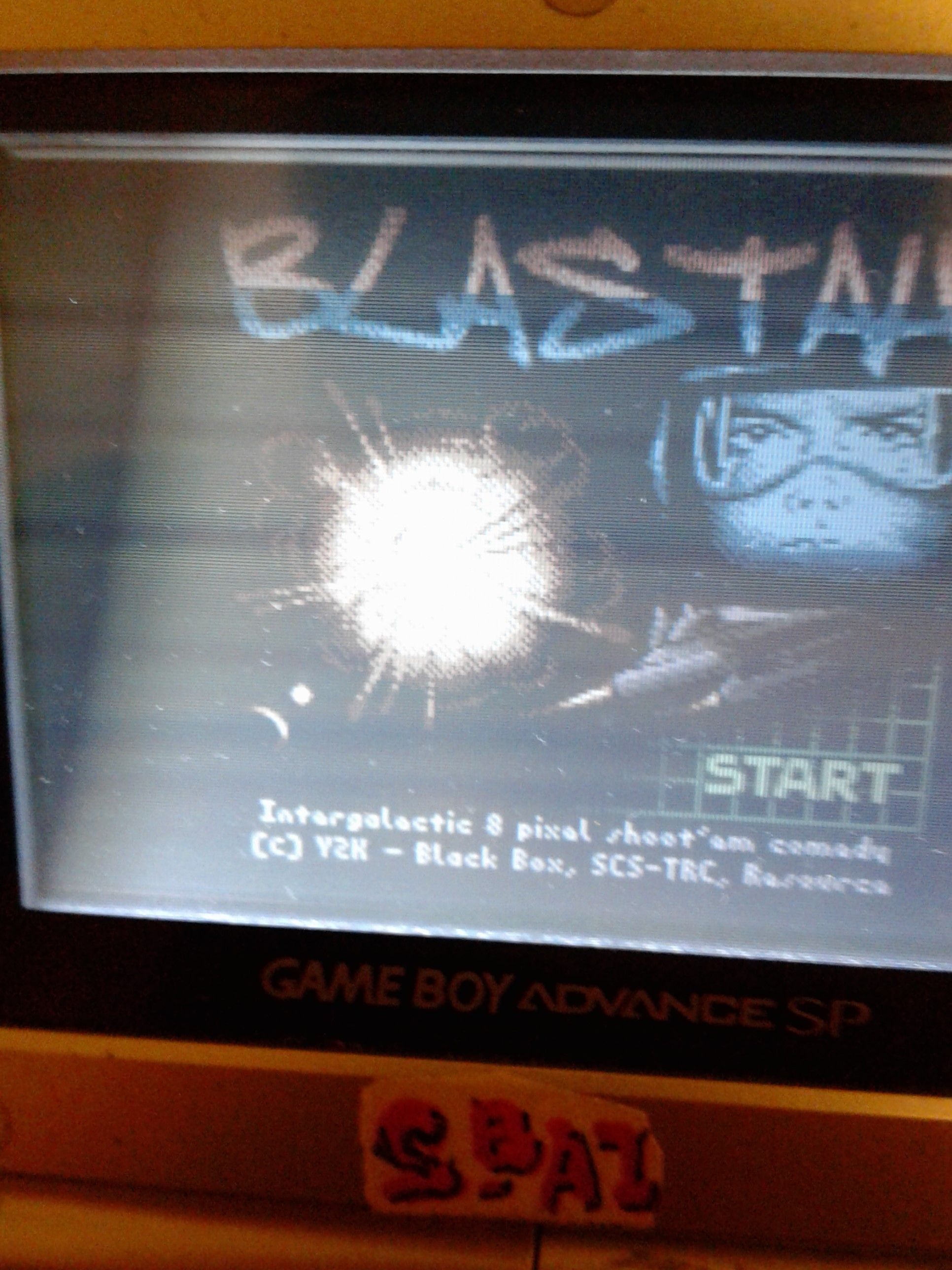 S.BAZ: Blastah (Game Boy Color) 1,400 points on 2020-08-08 16:33:56
