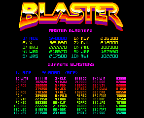 Dumple: Blaster (Arcade Emulated / M.A.M.E.) 548,080 points on 2016-06-12 10:11:29