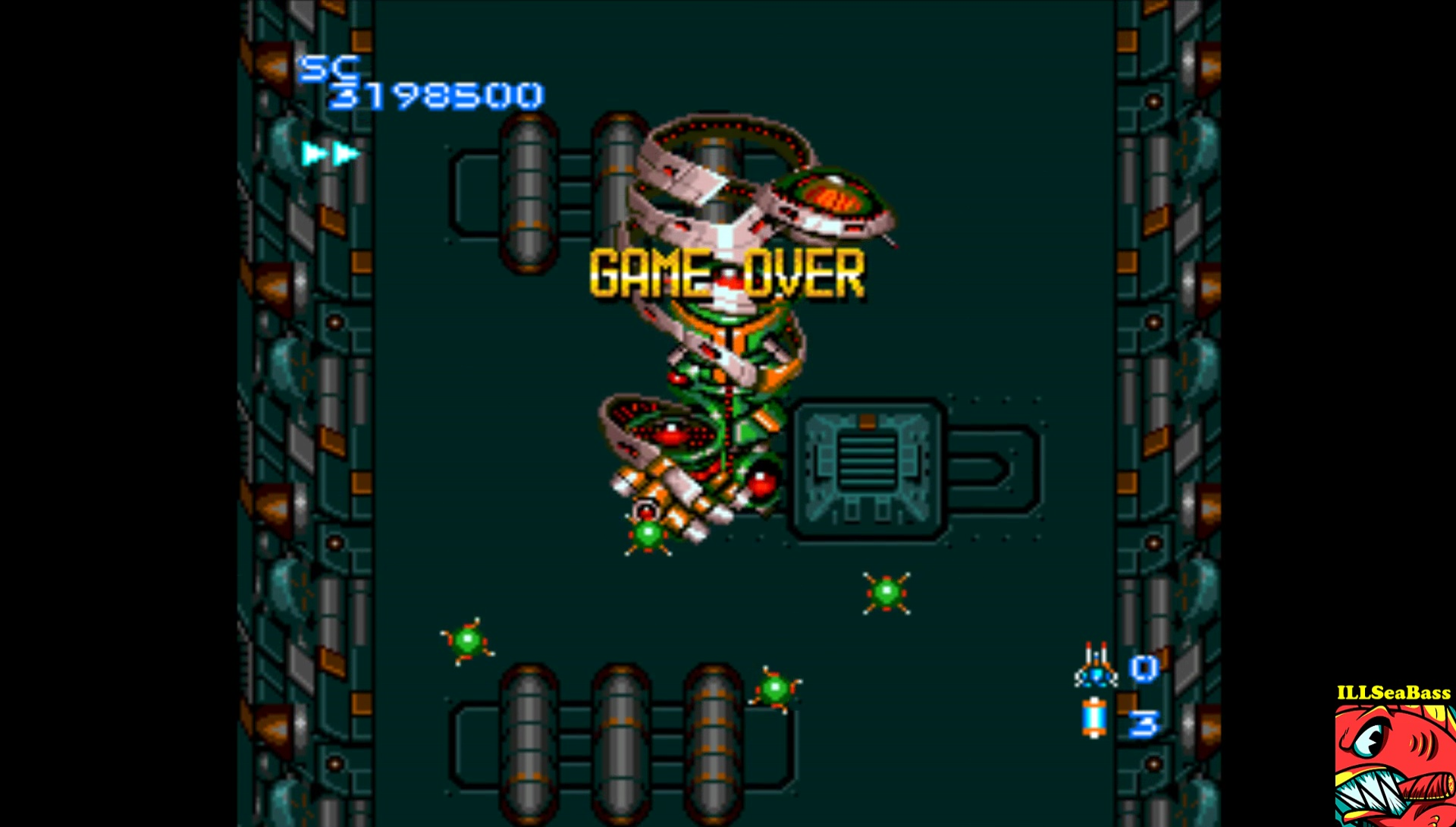 ILLSeaBass: Blazing Lazers (TurboGrafx-16/PC Engine Emulated) 3,198,500 points on 2017-03-20 19:23:59