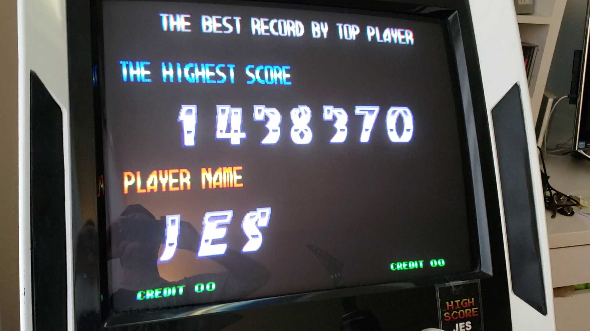 JES: Blazing Star (Arcade Emulated / M.A.M.E.) 1,438,370 points on 2020-02-04 16:19:49