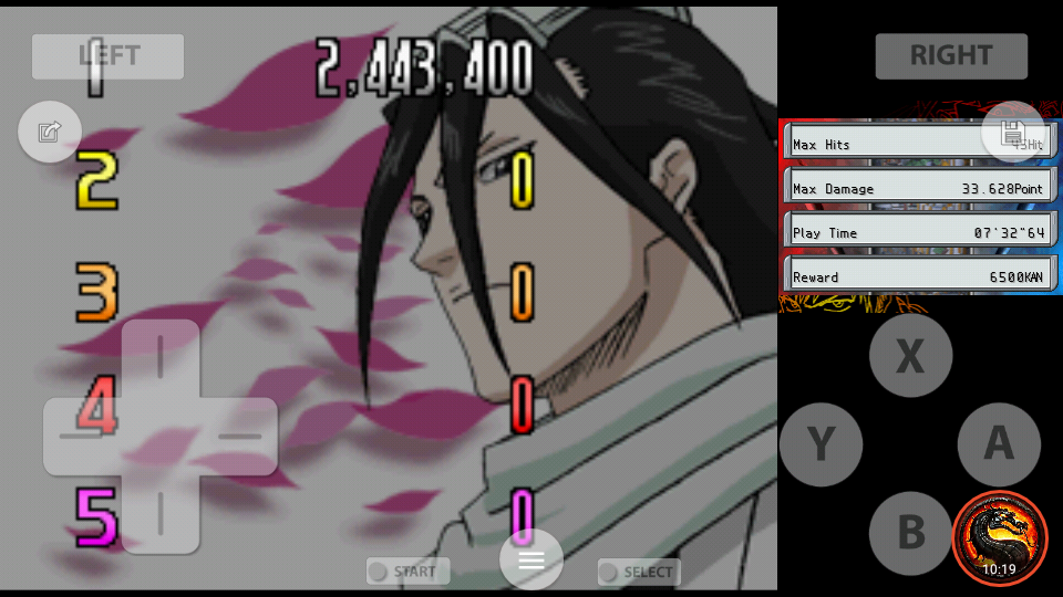 omargeddon: Bleach: The Blade Of Fate: Arcade Mode: Byakuya [Normal] (Nintendo DS Emulated) 2,443,400 points on 2020-10-08 14:53:38