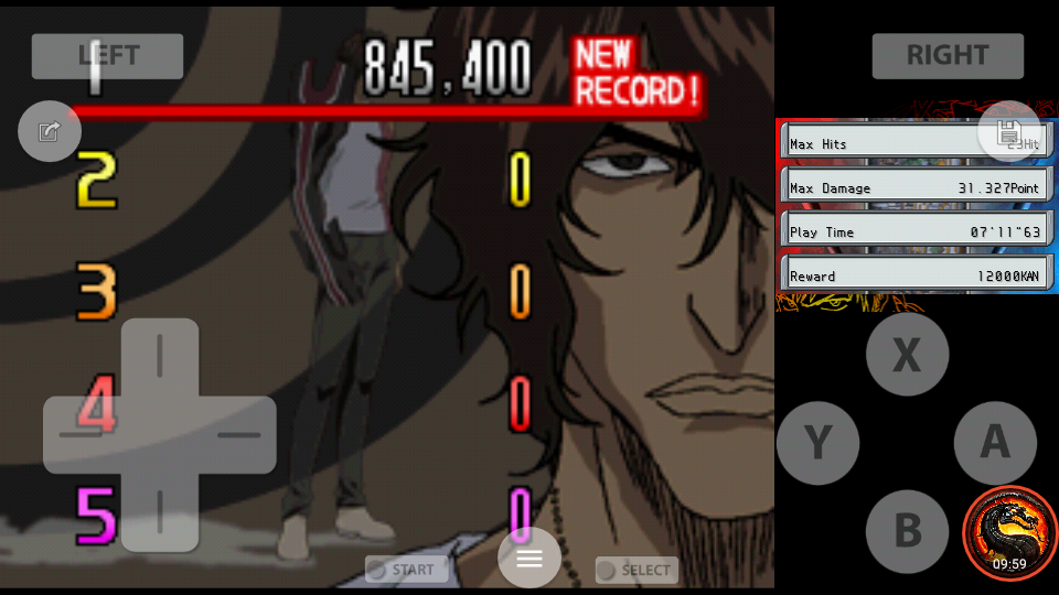 omargeddon: Bleach: The Blade Of Fate: Arcade Mode: Chad [Easy] (Nintendo DS Emulated) 845,400 points on 2020-10-08 23:52:22