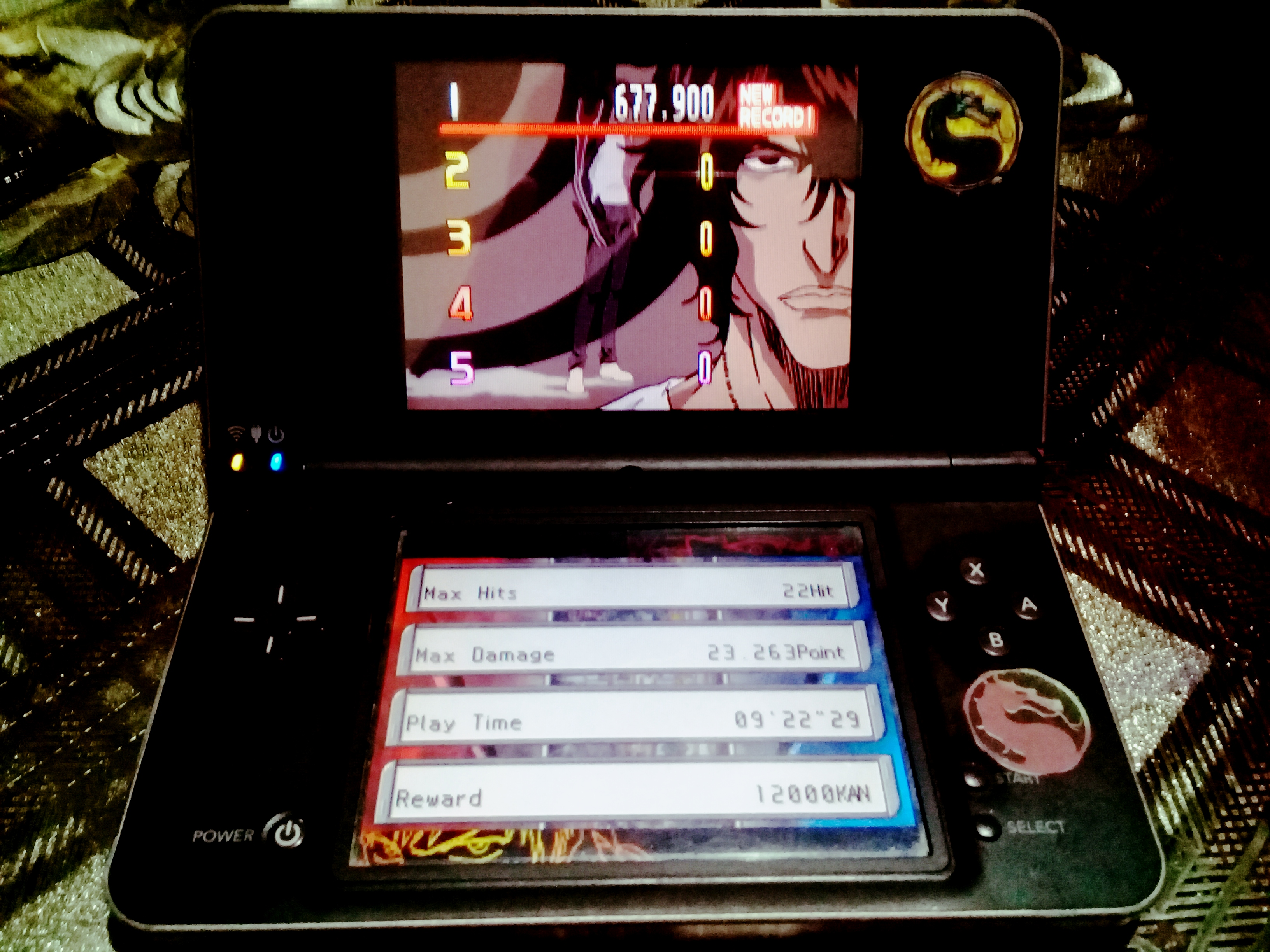 omargeddon: Bleach: The Blade Of Fate: Arcade Mode: Chad [Easy] (Nintendo DS) 677,900 points on 2020-10-13 13:21:03