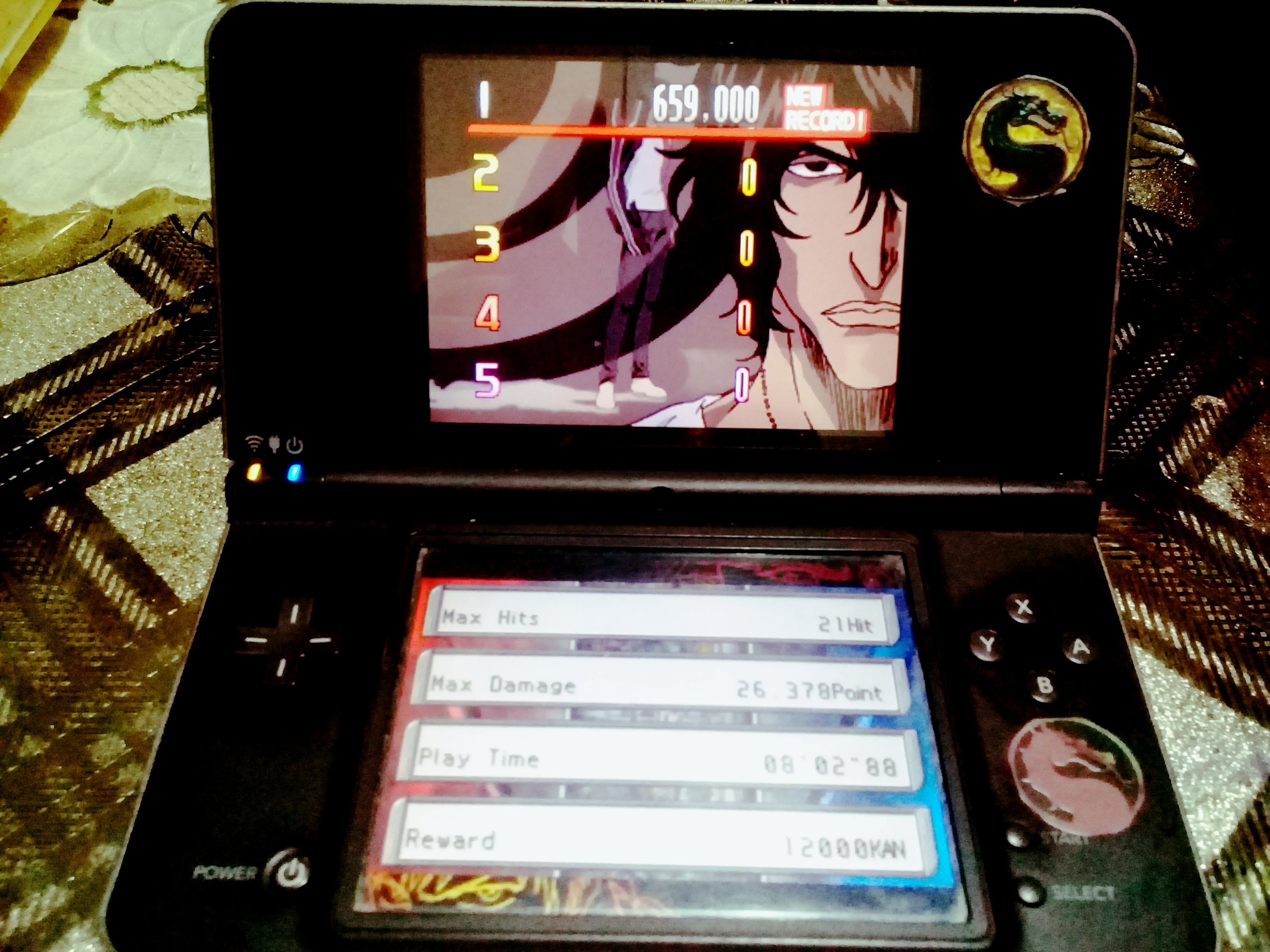 omargeddon: Bleach: The Blade Of Fate: Arcade Mode: Chad [Normal] (Nintendo DS) 659,000 points on 2020-10-05 11:20:12
