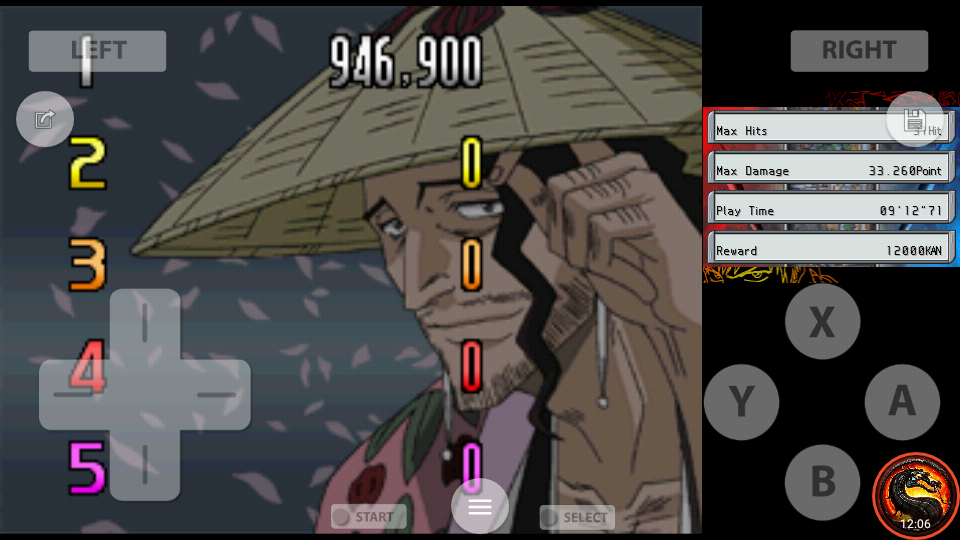 omargeddon: Bleach: The Blade Of Fate: Arcade Mode: Kyoraku [Easy] (Nintendo DS Emulated) 946,900 points on 2020-10-08 23:20:11