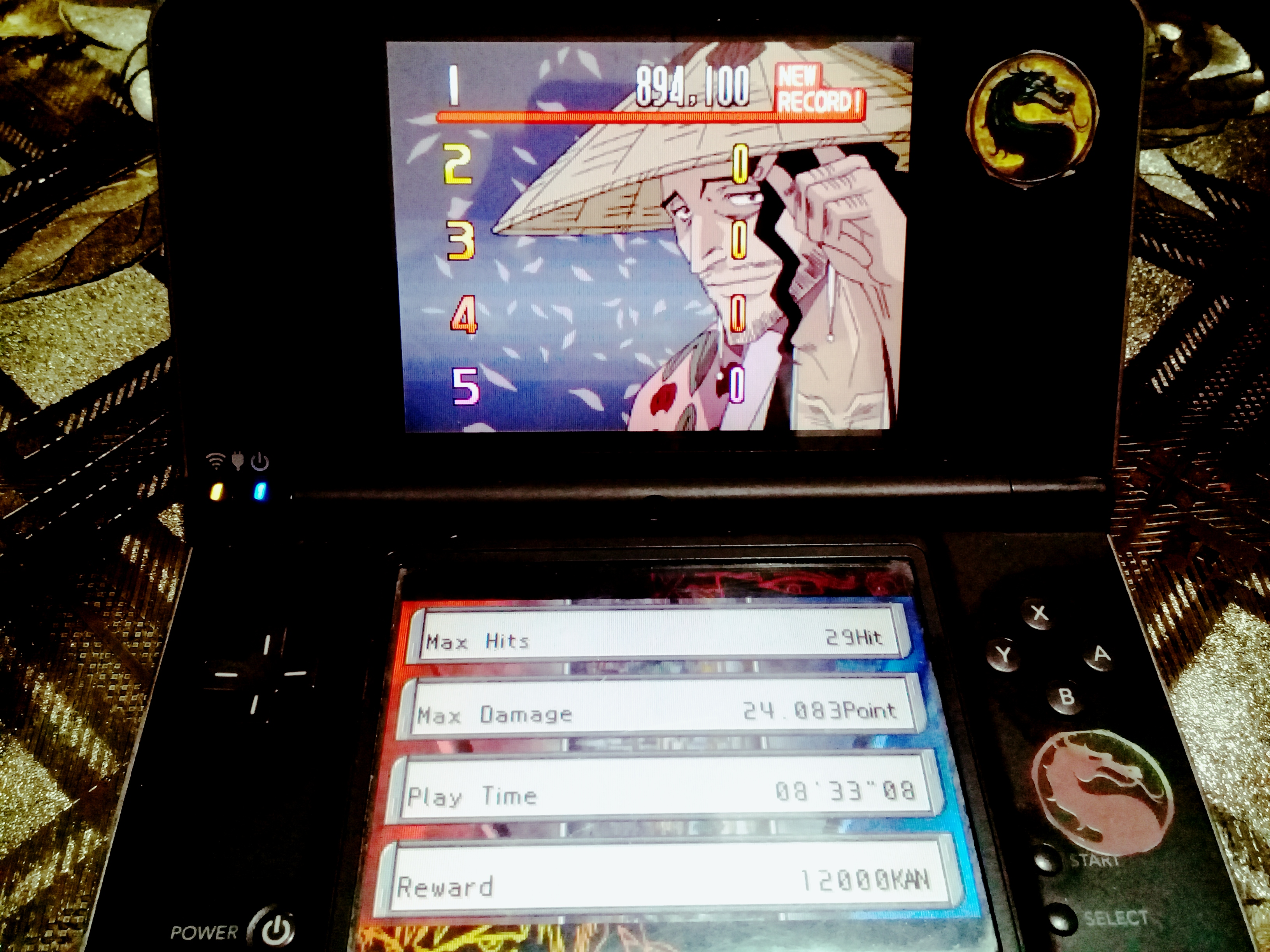 omargeddon: Bleach: The Blade Of Fate: Arcade Mode: Kyoraku [Easy] (Nintendo DS) 894,100 points on 2020-10-13 13:02:52