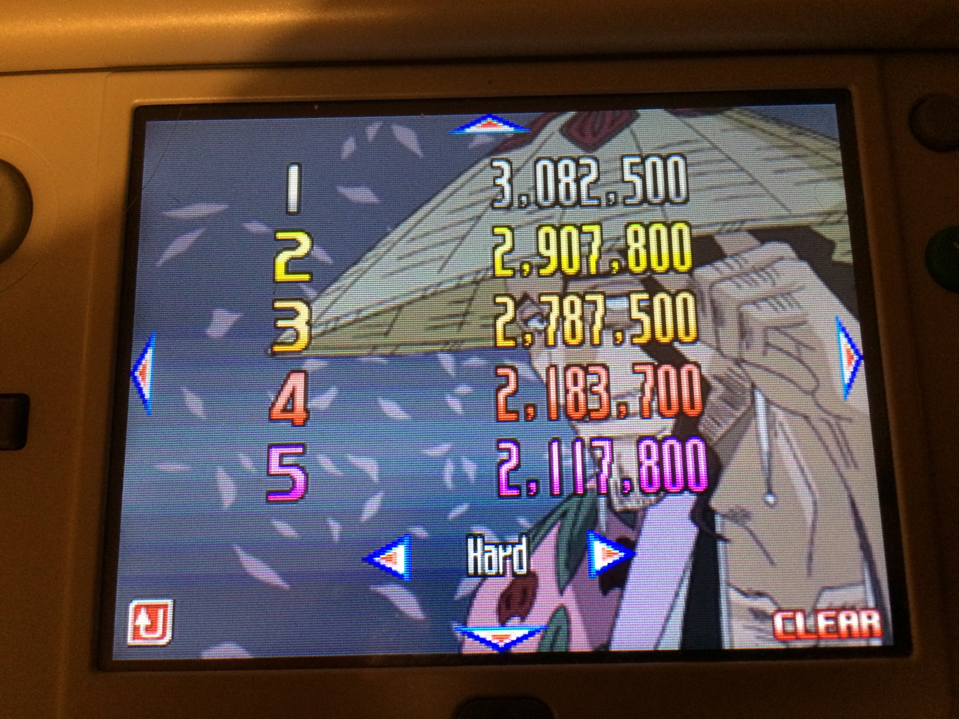 Bleach: The Blade Of Fate: Arcade Mode: Kyoraku [Hard] 3,082,500 points