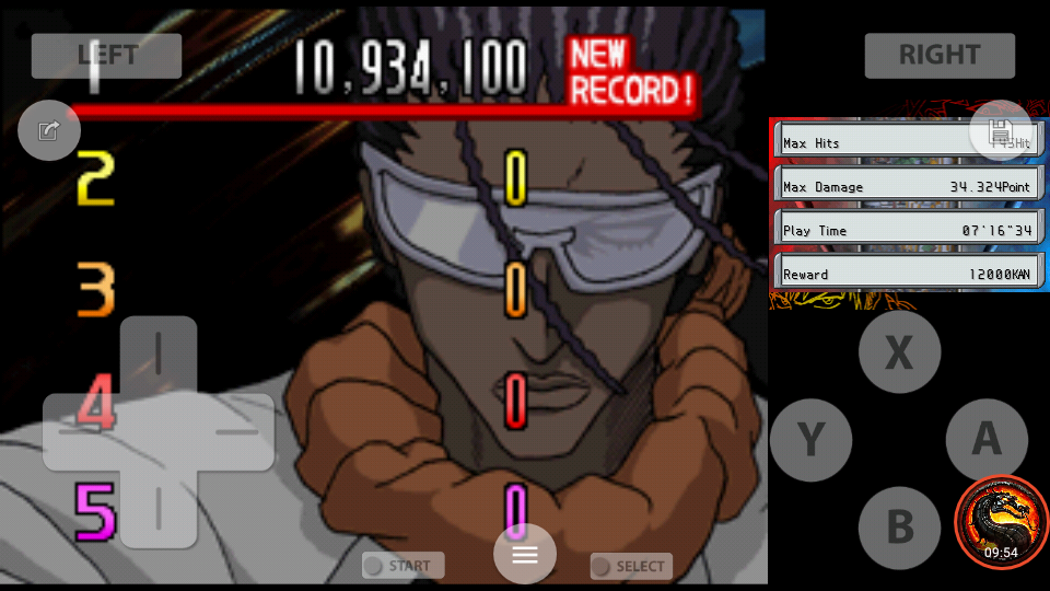 omargeddon: Bleach: The Blade Of Fate: Arcade Mode: Tosen [Easy] (Nintendo DS Emulated) 10,934,100 points on 2020-10-08 23:17:54