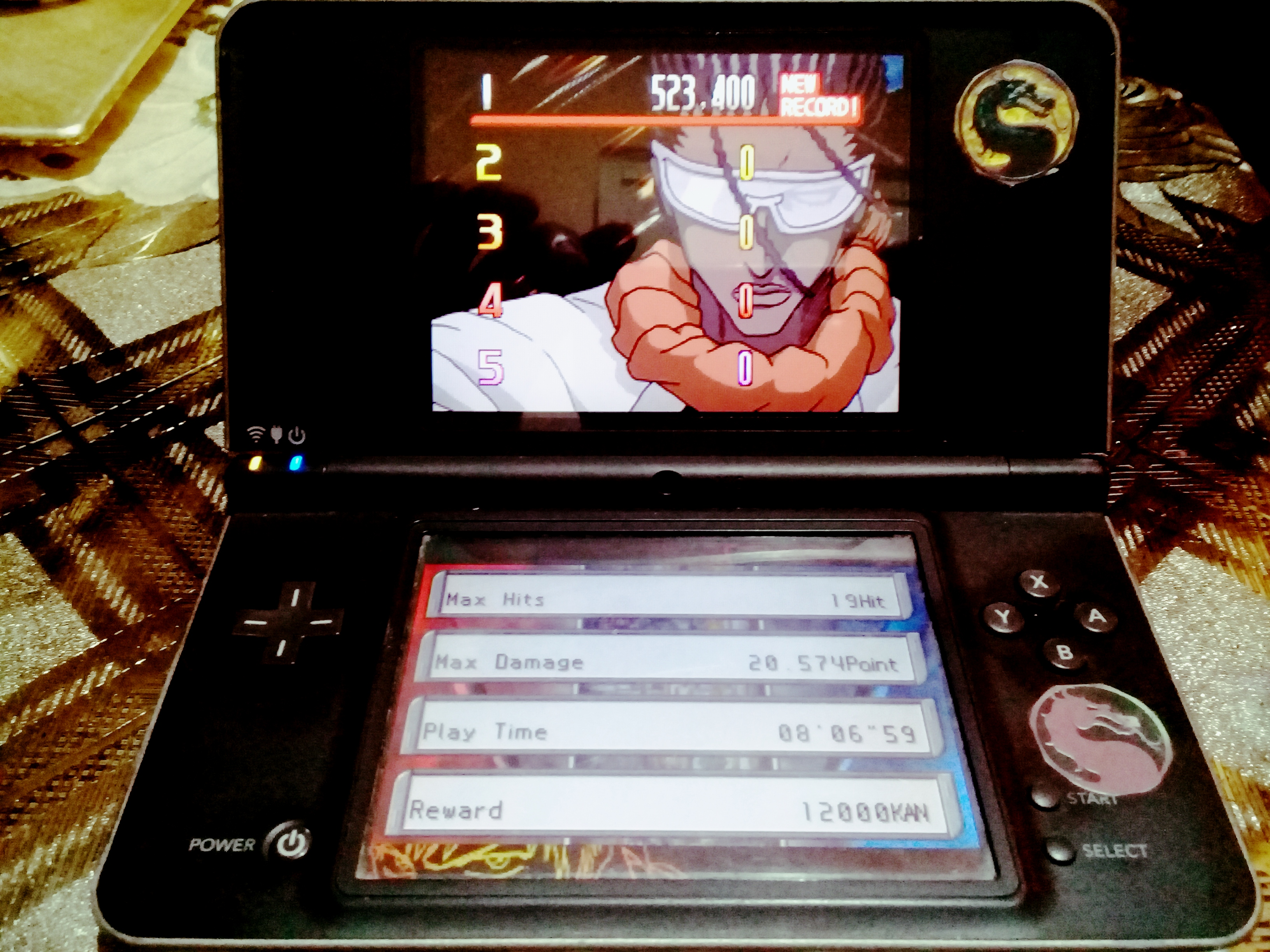 omargeddon: Bleach: The Blade Of Fate: Arcade Mode: Tosen [Normal] (Nintendo DS) 523,400 points on 2020-10-05 10:36:51