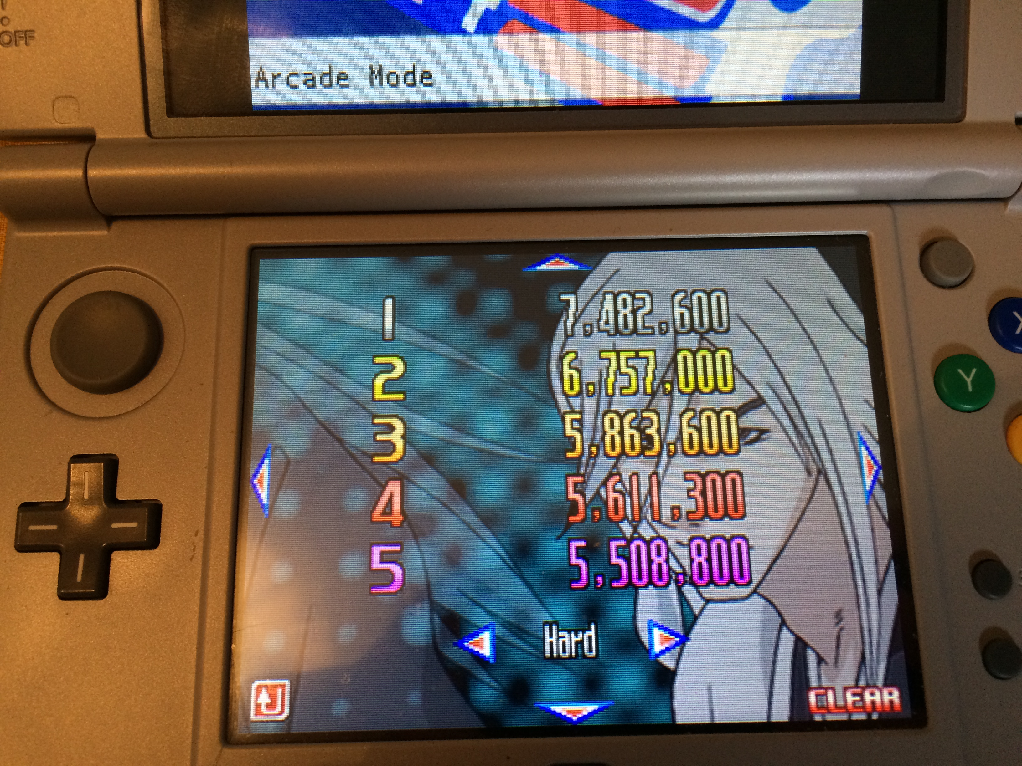 Bleach: The Blade Of Fate: Arcade Mode: Ukitake [Hard] 7,482,600 points