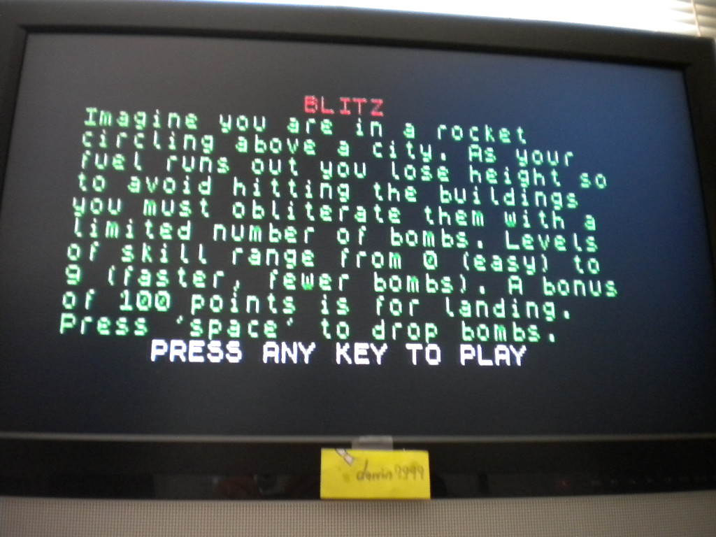 Blitz [Pi Software] 158 points