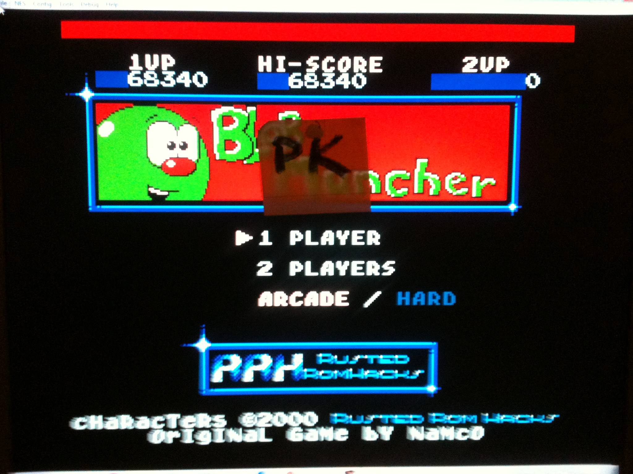 kernzy: Blob Muncher: Arcade (NES/Famicom Emulated) 68,340 points on 2015-11-21 06:15:07