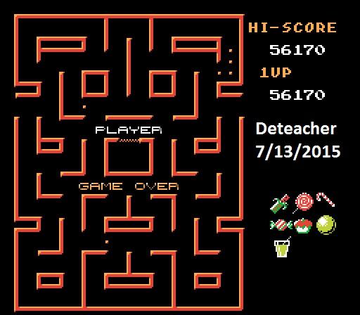 Deteacher: Blob Muncher: Hard (NES/Famicom Emulated) 56,170 points on 2015-07-13 21:47:36