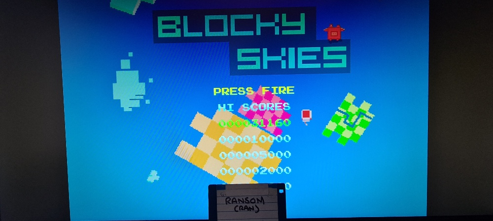 ransom: Blocky Skies (Amiga Emulated) 31,160 points on 2021-01-17 01:05:08