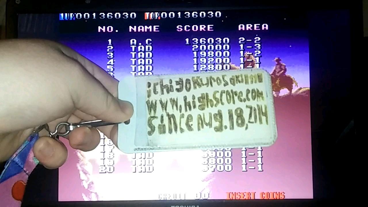 Blood Bros. 136,030 points